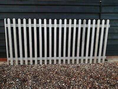 Handmade top quality picket fence panels