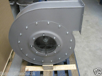 High Pressure Centrifugal Fan Blower 7200m3hr 4000pa 7.5kw 3 Phase Extractor