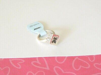 Brighton Toledo Alto Arabesque Silver ring Size 9 New tags $58