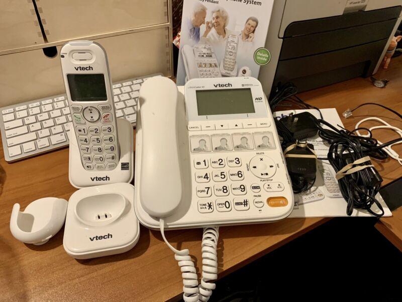 Vtech CARELINE PLUS SN6197 Senior TELEPHONE System (No Pendant)