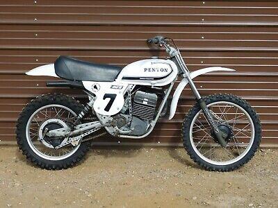 '76 Penton KTM MC400 MINT 400 Vintage MX MotoCross Enduro RARE BIKE! Restored