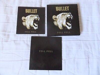 CD DIGIPACK Bullet - Full Pull (2013) First Press