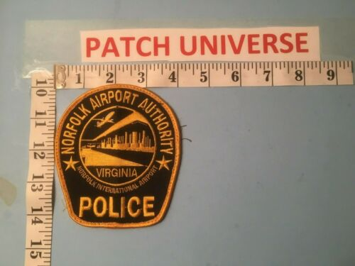 NORFOLK  AIRPORT  AUTHORITY  POLICE  SHOULDER  PATCH  Q014