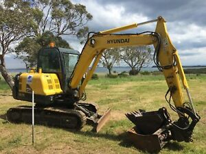 Hyundai R 55-7A Excavator Archerfield Brisbane South West Preview