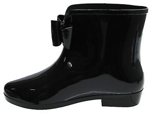 New Ladies Ankle Fashion Short Welly Wellington Snow Rain Waterproof Boots 3-8