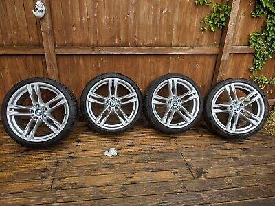 """MINT 20"""" BMW 6 Series F06 F12 F13 2012-2018 M Sport Alloy Wheels & Tyres R20"""