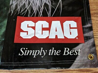 Scag Dealer Banner Sign 36