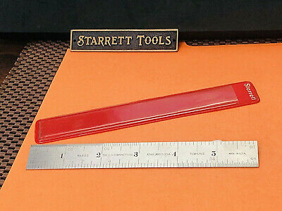 Vintage Starrett No.602-6 6 Inch Spring-tempered Steel Rule With Inch Grad. Usa