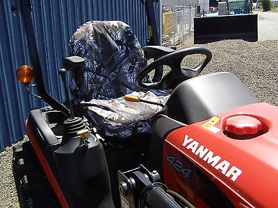 Oak Brush Tractor Seat Cover Small Forklift Seat Cover Small Oak Brush Camo