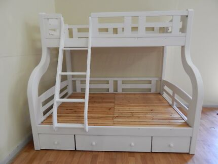 Solid single over double bunk SYD DELIVERY & ASSEMBLY AVAILABLE
