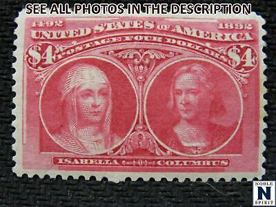 NobleSpirit No Reserve (SM) Popular US 244 Mint H = $2, 000 CV $4 Columbian