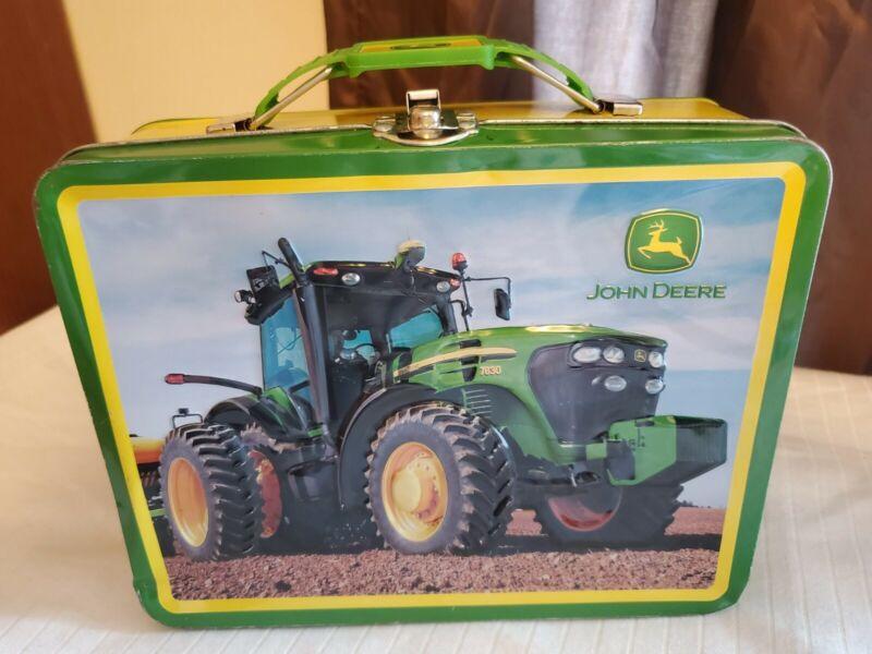 John Deer Tractor Lunch Box