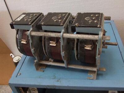 Powerstat Variac Superior Electric 3 Ph In 240 V Out 0-280v 10.7 Kva