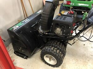 "Monster snowblower 45"" cut 420CC dually *** Price Reduced***"
