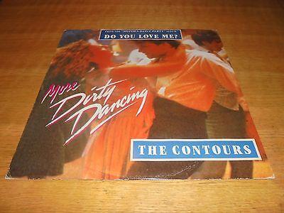 "THE CONTOURS - Do You Love Me? 12"" Vinyl - Dirty Dancing  - Motown"