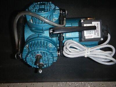 Knf Neuberger Un035.1.2atp Laboratory Twin Head Diaphragm Vacuum Pump Compressor