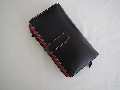 Brand New Lodis Black Audrey Deluxe Checkbook Clutch Wallet 238AU BLK Lodis Audrey Clutch Wallet