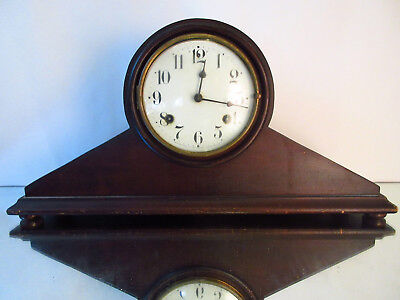 Antique Waterbury Clock Co Mantel Shelf Clock