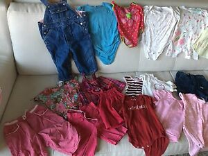 Lot of baby girl clothes 6-12 months.