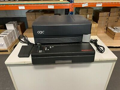Gbc Magnapunch Binding Punch W 41 .2475 Coil Die - Fully Serviced Tested
