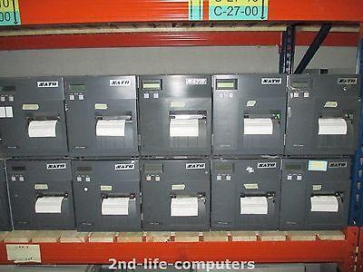SATO CL408E Direct Thermal Transfer Label Printer PARALLEL REWINDER 7159,7 METER