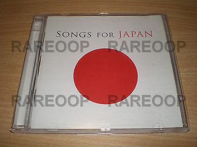 Songs For Japan  2Cd  Shakira Lennon U2 Justin Bieber Enya Foo Fighters Queen