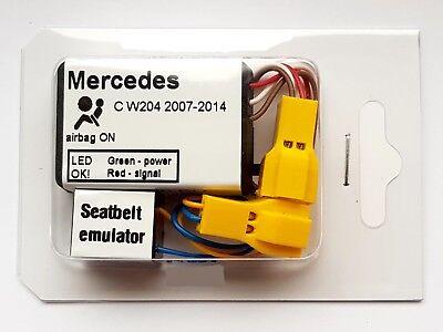Seat Occupancy Mat Bypass MERCEDES C CLASS W204 2007 2014 Airbag Sensor Emulator