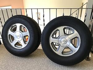"""Chevy 16"""" rims and Tires"""