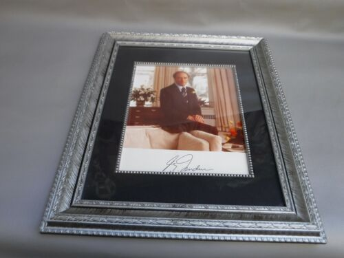 Pierre Trudeau Photo Print Signed