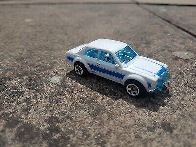 HOT WHEELS 70 ford escort rs1600 matchbox diecast hotwheels 1/64