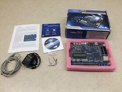 Altera De2 Cyclone 2 Programming Development Education Board Fpga 35000 Les