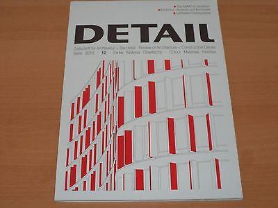 DETAIL Zeitschrift für Architektur + Baudetail Serie 12/2016 Neuwertig!