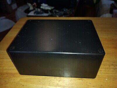 Abs Plastic Enclosure Black Project Box