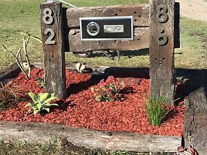 Handmade rustic letterbox- made to order Mundoolun Logan Area Preview