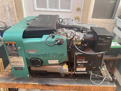 Onan Emerald Plus Generator 4000 Watt Rv Motorhome Generator