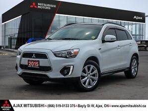 2015 MITSUBISHI RVR G.T.-ACCIDENT FREE/1 OWNER