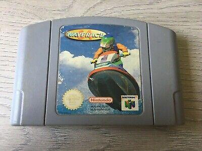 Nintendo 64 N64 PAL game Wave Race 64 - Cart only - Free UK postage