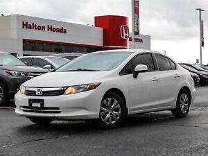 2012 Honda Civic LX NO ACCIDENTS