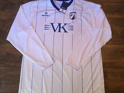 2011 2012 Chesterfield BNWT New L/s Football Shirt Adults XL Jersey Maglia image