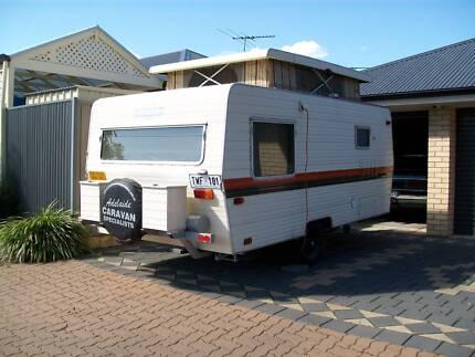 Caravan 13' Pop-top 1980 **Reduced for quick sale** Gilles Plains Port Adelaide Area Preview