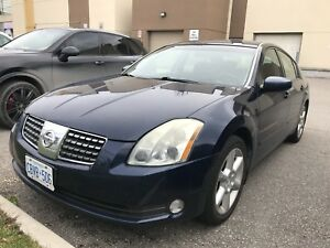 Nissan maxima Blue 100% working condition Automatic