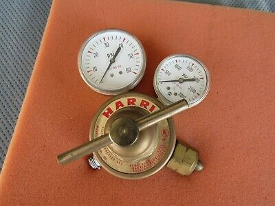 Harris Acetylene Regulator 325 50a Clean Condition Made In Usa