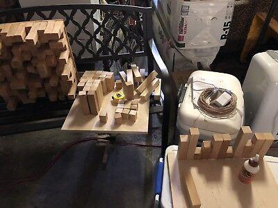 DIY Skyline 18x18 Acoustic Wooden Sound Diffuser Kit