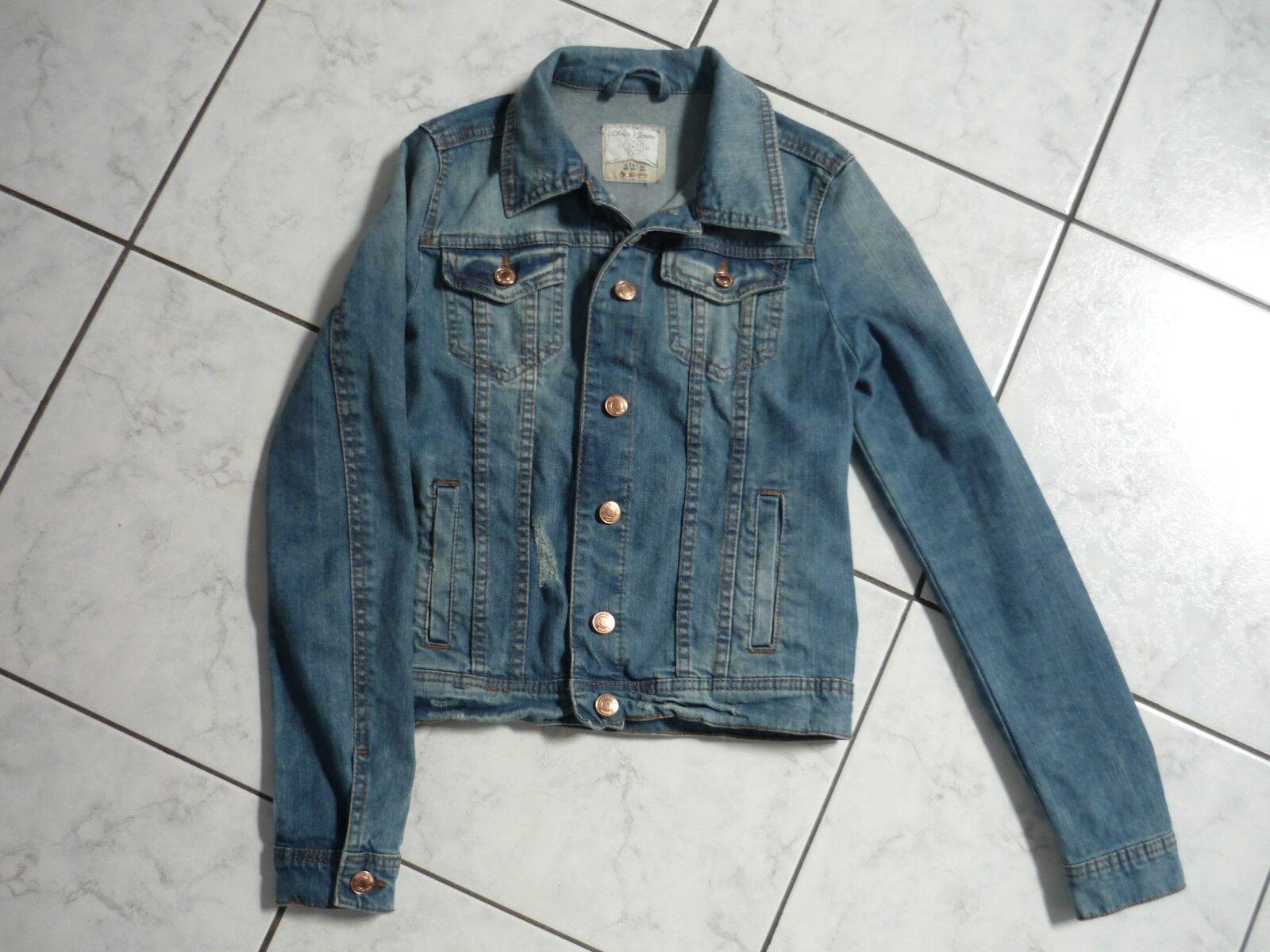 Veste en jean taille s stradivarius