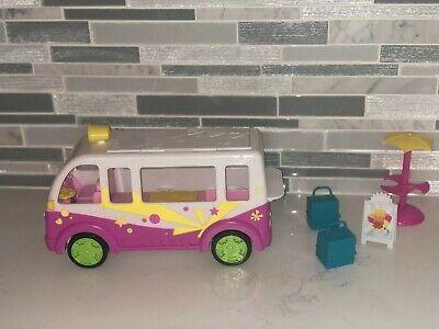 Shopkins Season 3 Scoops Ice Cream Truck Van with accessories