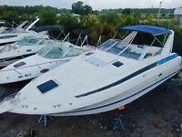 BAYLINER 3055 Cierra CRUISER yacht Sea Ray FORMULA carver MERIDIAN mercruiser
