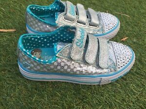 Kids size 12 twinkle toes sketchers