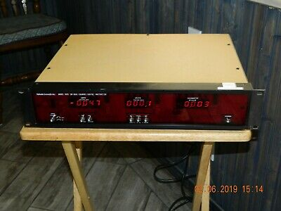 Valhalla Scientifi Inc. 2033 Dual Channel Polyphase Digital Wattmeter