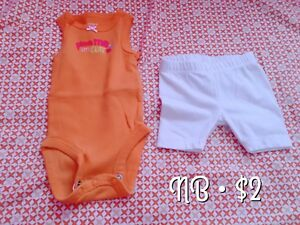 Newborn and 0-3m clothes