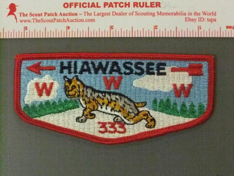 Boy Scout OA 333 Hiawassee flap 4114JJ